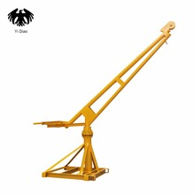 Outdoor crane 360 degree rotation 1T 220V/380v12m/30/60/100m can be equipped with household micro electric / hoist small crane