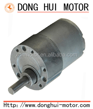 37mm gearbox low rpm micro gear reduction motor 24 volt dc for 12 volt electric motor low rpm