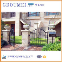 Professional Manufacture Metal Gates And Steel Fence Deisgns