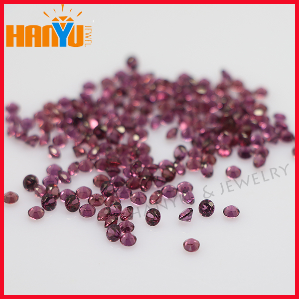 Brazil Diamond Rough Natural Purple Garnet Gemstones