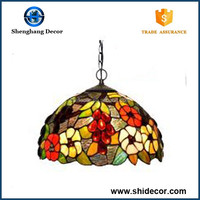 Pretty lamps antique tiffany hanging lamps wholesale low price beautiful stained glass lamp shades