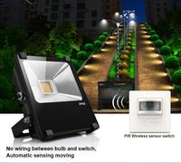 pir motion sensor 10w led flood light 2 years warranty outdoor led garden light