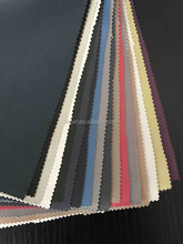 Polyester Satin Roman Blinds Fabric Flocking Blackout Coating