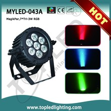 IR Remote DMX 512 Professional Stage Par LED Uplight RGB 3-in-1