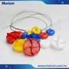 Plastic Pool Floats Swimming Competition Lane Line With Stainless Rope
