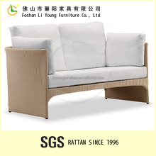 2-seats waterproof with high density sponge sofa relax chair for indoor & outdoor furniture LG82-0011