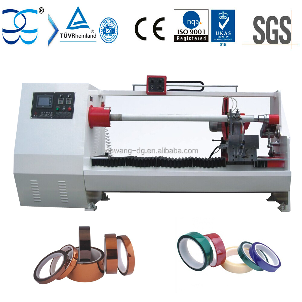 Log Roll Tape Automatic Cutting Machine, Tape Roll Cutter Machinery