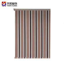New jacquard patterned curtain cloth price design for hall sale
