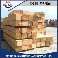 Anti-corrosion treated railway sleepers /wooden sleeper made in china