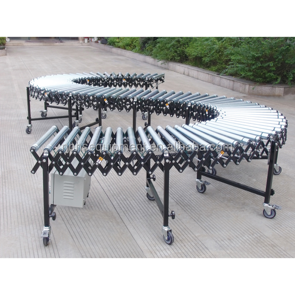 2016 Hot sale telescopic electric roller conveyor, conveyor belt <strong>system</strong>