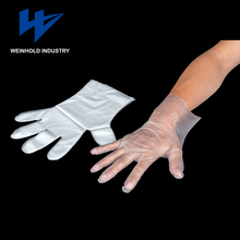 disposable plastic PE glove food/industrial/home use for high quality