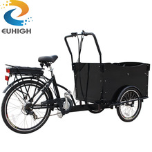 3 wheel electric bike/truck cargo tricycle