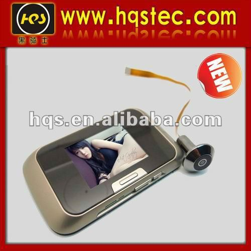 New products for 2013 2.8 inch LCD screen door eye hole camera