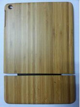 For Ipad air 5 Bamboo& Wooden back hard case High quality