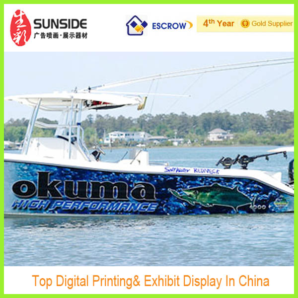 2014 Wholesale Decals Vinyl Sticker For Boat Decoration