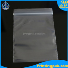 Ziplock VCI bags for protecting metal anti rust, reclosable