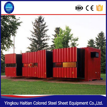 High Quality prefabricated steel frame kit homes,prefabricated container house price