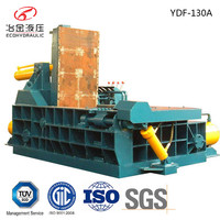 high quality metal copper scrap old iron baler