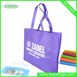 Custom Pantone Color Silk Printing Non Woven PP Bag /Shopping Tote Bag