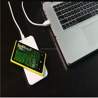 Qi Standard Universal Portable Wireless Phone Charger Receiver Module with Micro Port