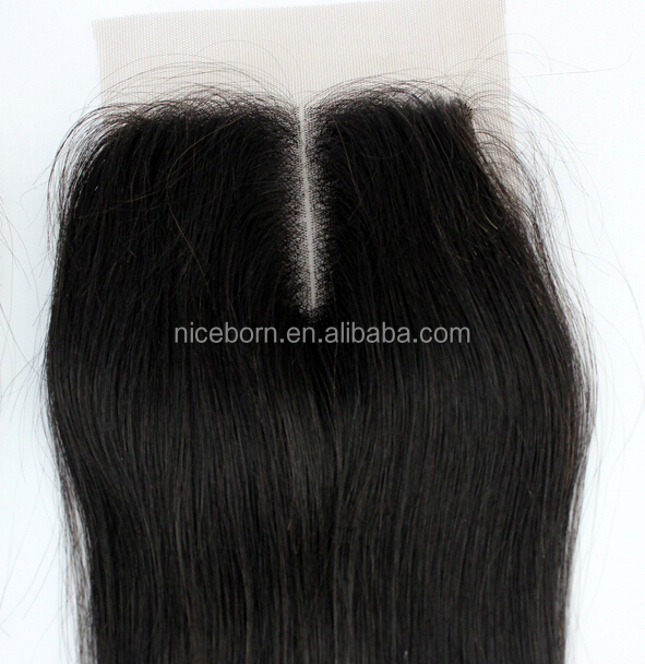 Peruvian Straight Virgin Hair With Closure Cheap 7A Grade Peruvian Human Hair Weave With 4x4 Free/Middle/Three Part Lace Closure