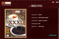 XXXL Maca Coffee