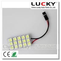 Best price 12V auto lamp bulb PCB 15smd 5050 LED Interior dome light
