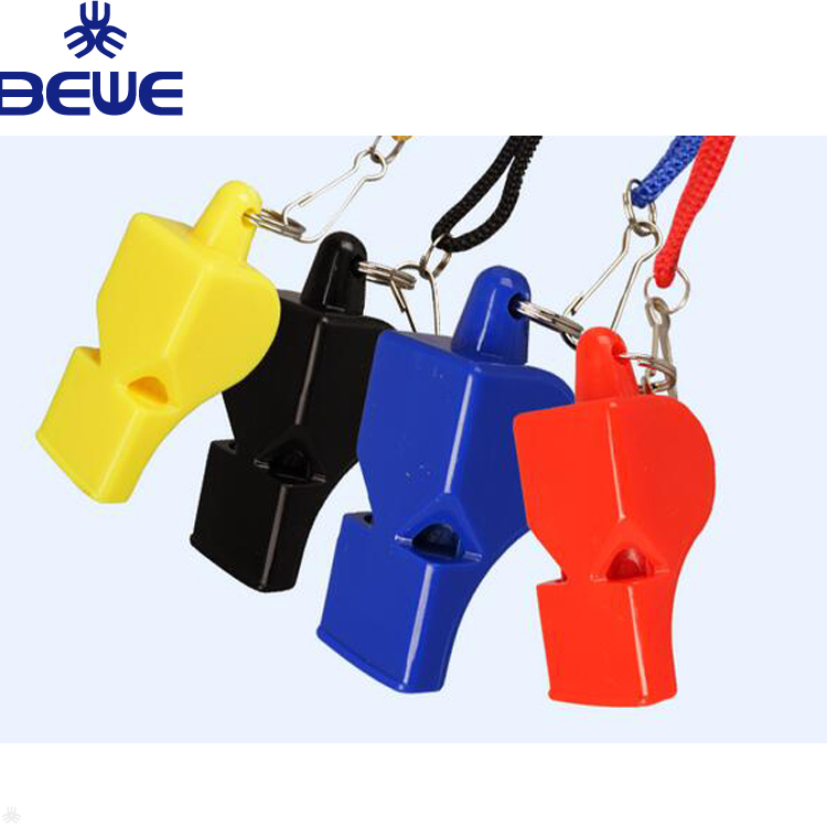 Pealess Plastic Hot Sale Rescue Safty Whistle