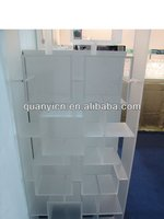 Customized wholesale acrylic bookshelf