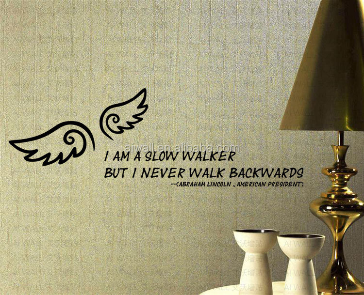 9003 Ailes BRICOLAGE Stickers Muraux Home Decor Art Vinyl Amovible ...