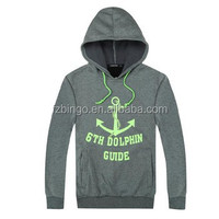 Free shpping cheap custom mens sweatshirt with hood
