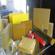replacing synthetic rubbers Plastic sheet cast polyurethane part