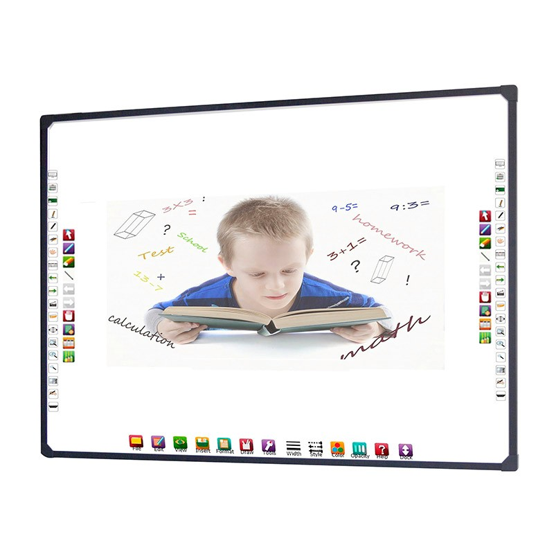 School and Office Touch screen digital and dry erase electronic interactive Whiteboard