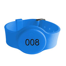Durable Sports waterproof passive nfc silicone rfid wristband