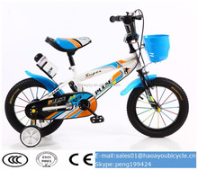 2016 new model kids police bike wholesale children bicycle for 10 years old child cheap blue color bicycle