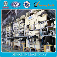 Multi-dryer and multi-cylinder mold grey board /white duplex paper making machine