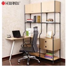 China Executive Furniture Supplier Classic office Study Room wood steel book patent furniture