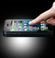 2013 new design mobile phone tempered glass screen protector for iphone 5