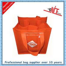 9 bottle size non-woven wine bag