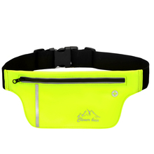 Running Reflective Bag for Waist Pack Waterproof Belt Bag Sports Mobile Phone Holder for below 6inch Bags