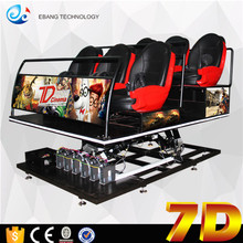 Vr Interactive Entertainment Equipment 7d Cinema Game Machine Animation World In China