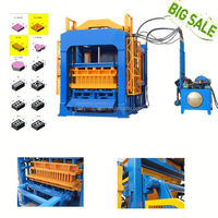 QT4-15 pavers vibrator price in india brick block machine