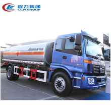 Foton single axle large capacity 16m3 oil tanker truck sale kenya