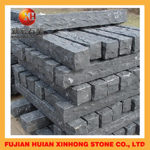 Top quality of natural basalt stone columns