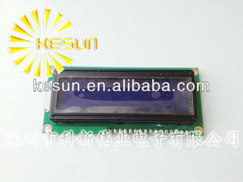 LCD1602 LCD 1602 blue screen with backlight LCD display 1602A-5v
