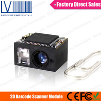 LV3080 2D Barcode Scanner Module, a Smallest Scanning Device with CCD Camera