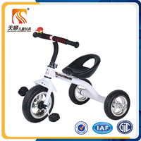 Ride on trike toys steel sport baby 3-wheel tricycle Supplier