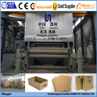 Good Performance White Clay Coated Grey Back Cardboard Paper/Gray Back Duplex Paper Board making machine