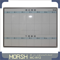 Office Message Board with Printing Grid