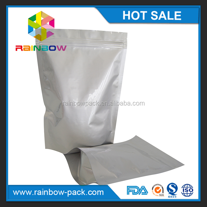 Mylar Foil Heat Seal Food Grade Aluminum Vaccum Packaging Pouch For Fresh Food Store Packaging